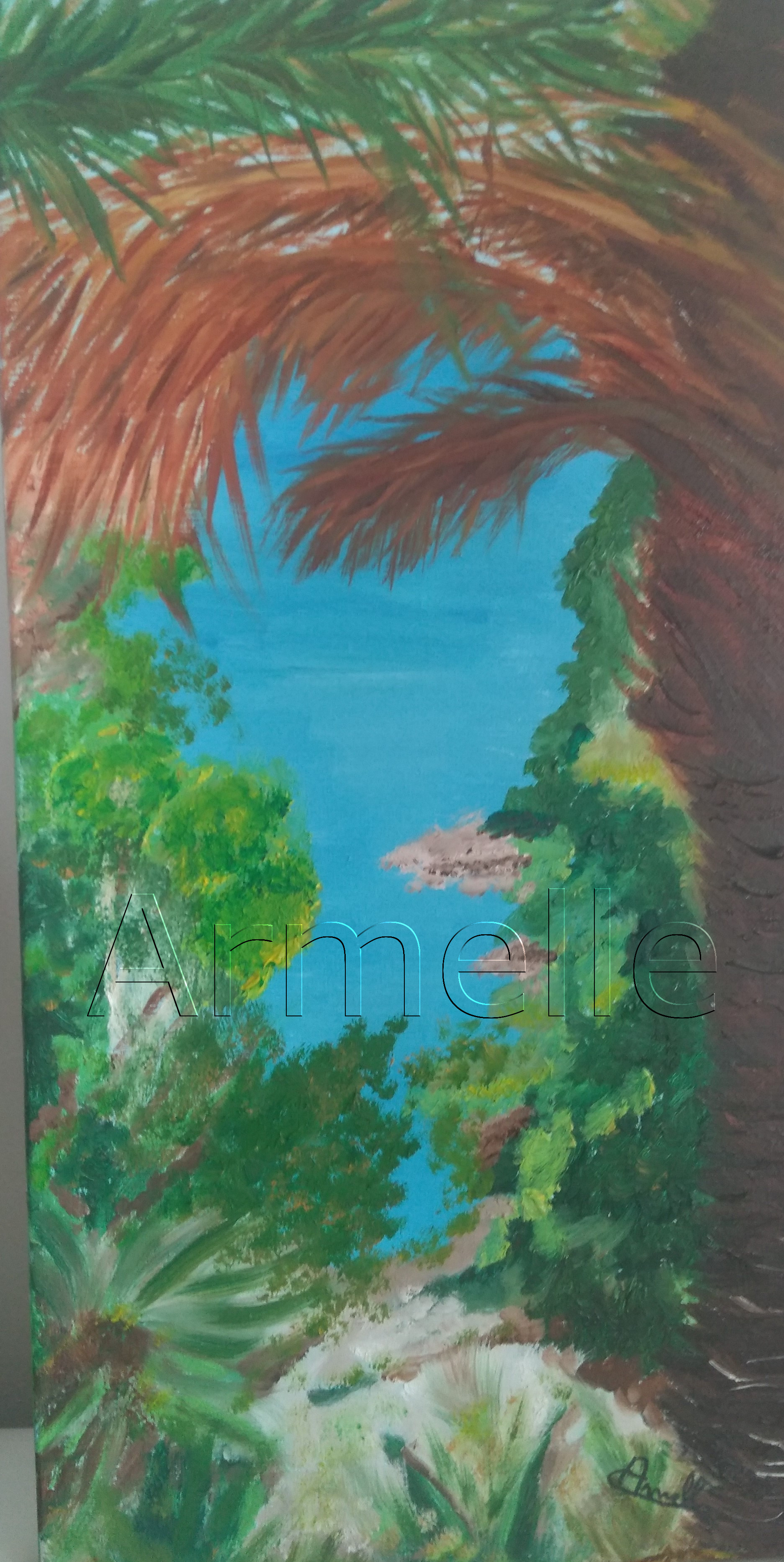 Huile  Format : 20 x 40
